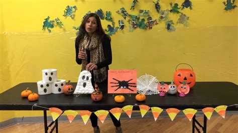 Halloween Arts & Crafts For Kids Youtube
