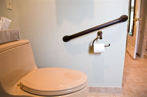 Decorative And Unique Grab Bars For Bathroom Safety