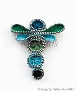 Zipper Dragonfly Pin Crafts