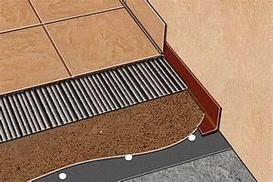 Isolation Sous Carrelage : chape chape isolation acoustique carrelage langatte ~ Melissatoandfro.com Idées de Décoration