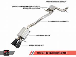 Awe Tuning Cat Back Exhaust For Vw Mk6 Jetta Gli 2 0t
