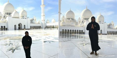 Colors + Patterns At Sheikh Zayed Grand Mosque