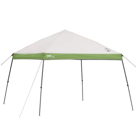 coleman portable canopy shelter    slant campingcomfortably