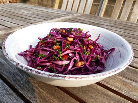 recettes de cuisine libanaise salade de chou et graines 1 2 3 veggie