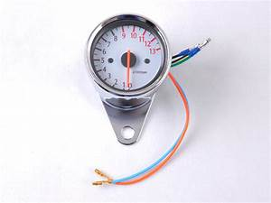 Motorcycle Inductance Analog Tach Tachometer 13000rpm