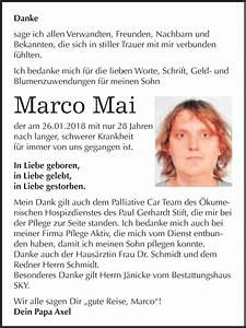Super Sonntag Wittenberg : traueranzeigen von marco mai ~ Watch28wear.com Haus und Dekorationen