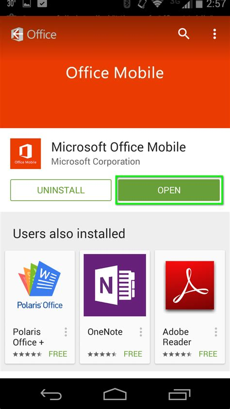 Office 365 Mail For Android by Office 365 Install Office 365 Apps For Android Office
