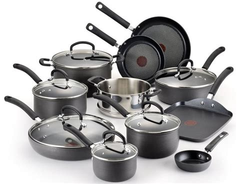 fal cookware anodized ultimate hard gas stove nonstick scratch resistant titanium food stick non