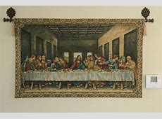 Ultima Cena tapestry The Last Supper wallhanging