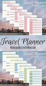 Vacation Travel Itinerary Template Travel Planner Printables Travel Itinerary Template