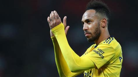 Pierre-Emerick Aubameyang: Striker rejects claim he only ...