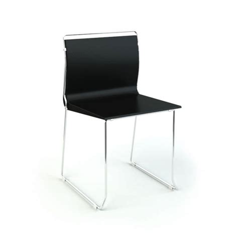 black metal office chair 3d model cgtrader