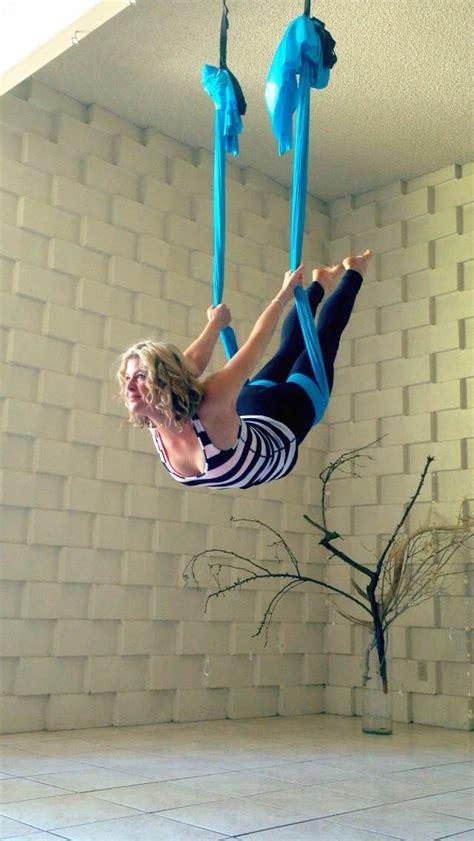 silk hammock  yoga