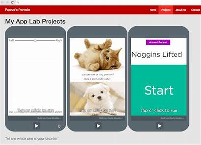 App Code Lab Embed Projects Website Community