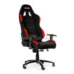 Chaise Gamer by Ak Racing Gaming Chair Black Red Ocuk