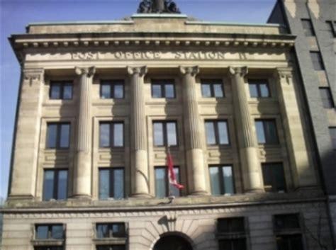 bureau poste canada centre ville de montréal voyage à travers le québec