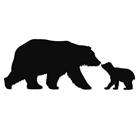 Bear svg, bear family svg, bears svg files for silhouette cameo and cricut. momma and baby bear clipart 10 free Cliparts | Download ...