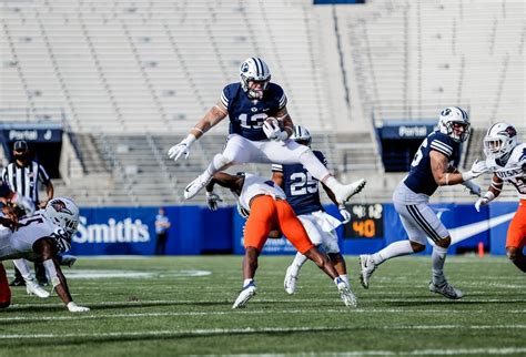 BYU football's Masen Wake doing all he can on the field ...
