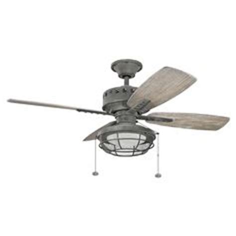 weathered gray ceiling fan home decorators collection 52 in indoor outdoor