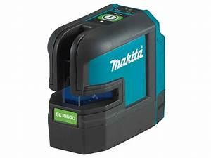 Makita Sk105gdz 12vmax Cxt Cross Line Green Laser Bare
