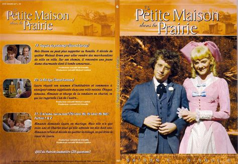 jaquette dvd de la maison dans la prairie saison 6 dvd 6 cin 233 ma
