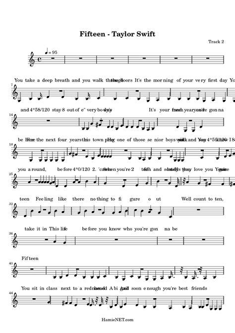 fifteen taylor swift sheet  fifteen taylor