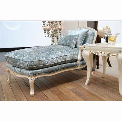 Chaise Salon Longue Luxe Barriga Tissu Vert