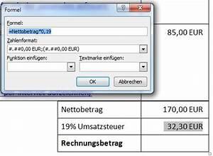 Ust Berechnen : word rechnungen in tabellen rechnen und in rechnungen nettobetrag umsatzsteuer und gesamtsumme ~ Themetempest.com Abrechnung