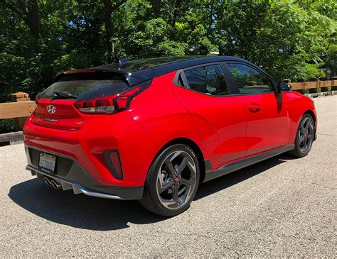 2019 Hyundai Veloster Review by 2019 Hyundai Veloster Turbo Ultimate Review Hatching