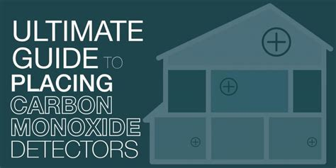 ultimate guide  placing carbon monoxide detectors