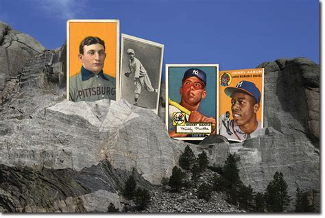 hacks building  mount rushmore  baseball cards