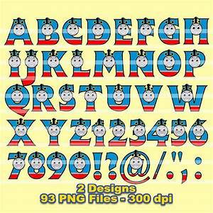 thomas train alphabet clipart 93 png files 300 dpi With train letters alphabet