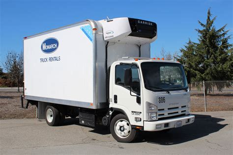 14ft 16ft refrigerated trucks monarch truck