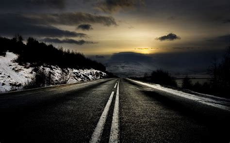 Amazing New Hd Wallpapers For Mobile by Amazing Road At Evening Hd Nature Wallpapers For Mobile