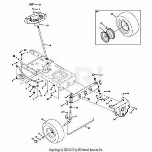 Troy Bilt 13an77ks011 Pony  2013  Parts Diagram For