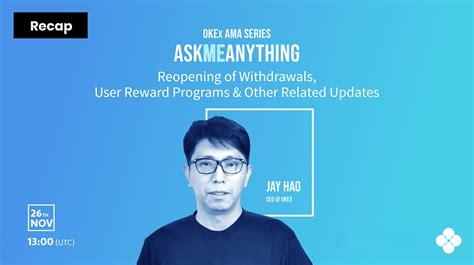 OKEx izpilddirektors atbild uz lietotāju jautājumiem par ...