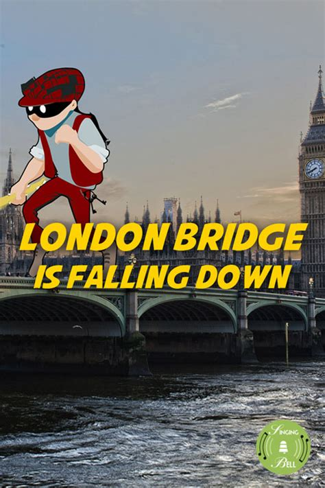london bridge  falling  song karaoke score