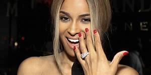 ciara39s engagement ring outshines her racy birthday outfit With ciara wedding ring