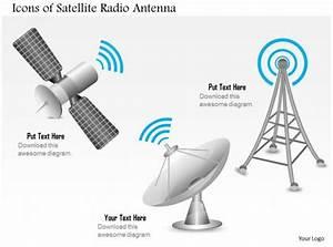 0914 Editable Images Icons Of A Satellite Radio Antenna