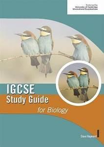 Igcse Biology Study Guides By Dave Hayward  Cambridge