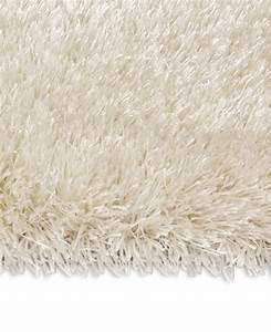 Tapis Shaggy Blanc : echantillon du tapis shaggy swing ii blanc par arte espina ~ Preciouscoupons.com Idées de Décoration