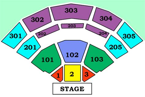 jiffy lube live seating map my