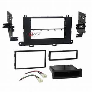 Car Radio Stereo Din 2din Dash Kit Panel Wire Harness For