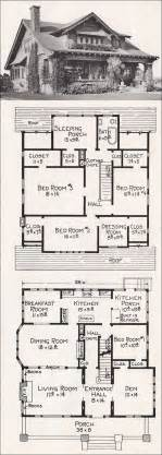 Bungalow Style Home Plans Large California Bungalow Craftsman Style Home Plan 1918 E W Stillwell