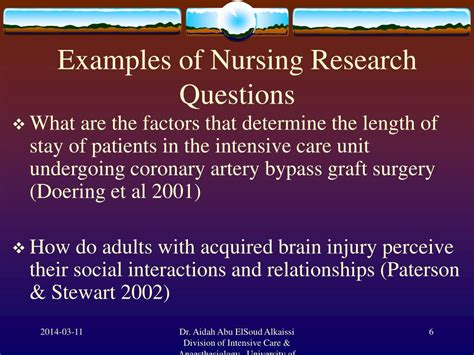Ppt  Inutroduction To Nursing Research Powerpoint