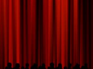 Opening gif find share on giphy for Theatre curtains gif