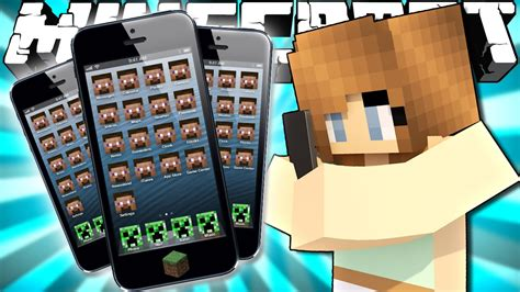minecraft phone mod if phones were added to minecraft