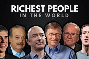 The Top 20 Richest People in the World 2017 ...