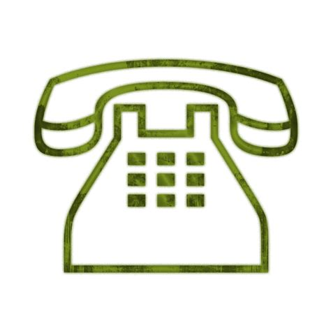 black phone number telephone clip phone clipart image 14654