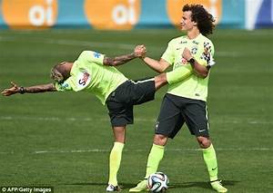 David Luiz is the embodiment of Brazil... his celebration ...